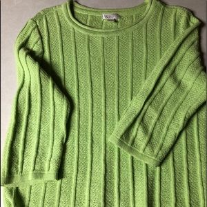 Christopher & Banks Sweaters - Christopher & Banks 3/4 length sleeve sweater